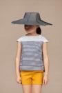 ANNICE SS18 - Blusa manga corta rayas marino