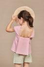ANNICE SS18 - Blusa pliegues espalda